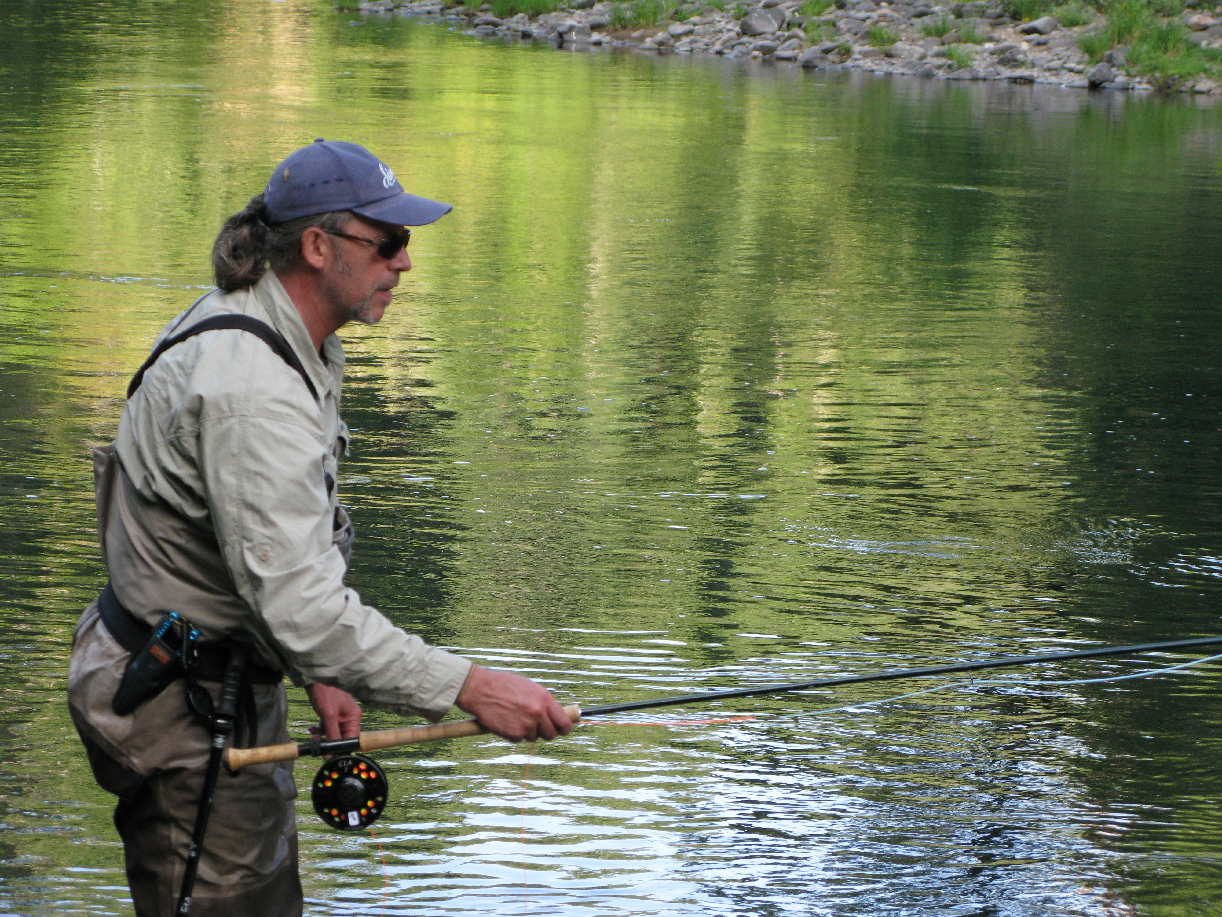 Fly lines and leader fishing with jay for Fly fishing leader