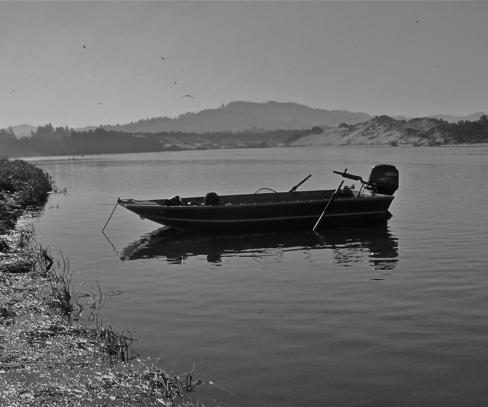 Koffler 16 jet sled fly fisher s design fishing for Fishing jet boat