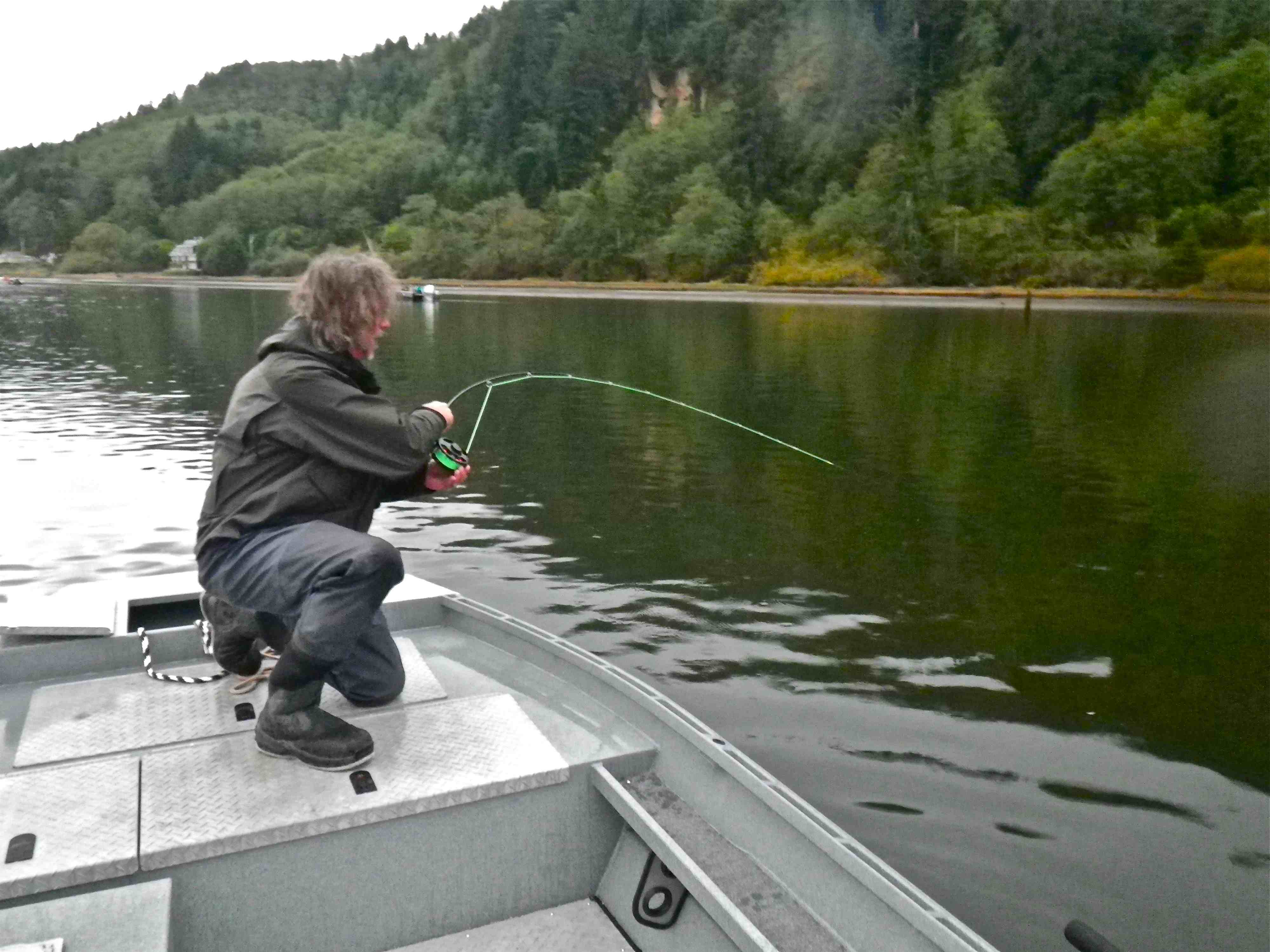 Three surprising fly lines for application to fly fishing for Fly fishing for salmon