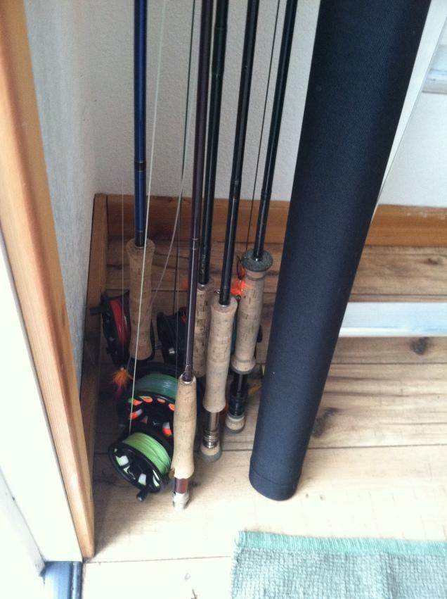 Jay Nicholas Fly Rods Ready to go 03262013