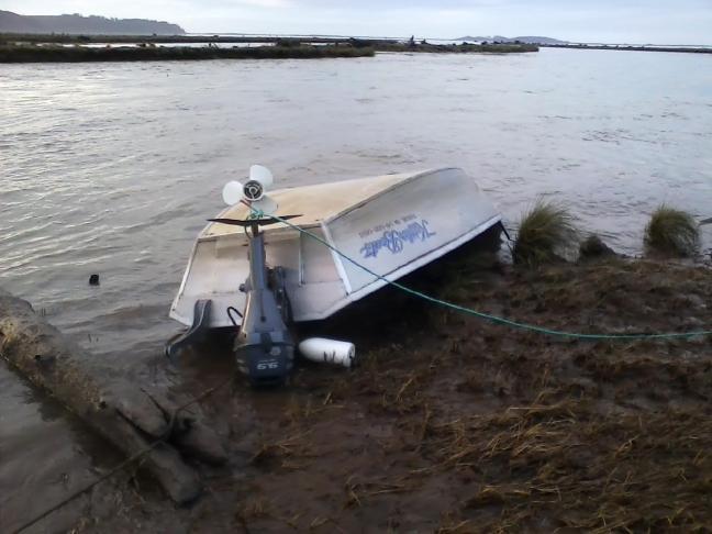 Jay Nicholas Boat recovery process