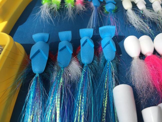 Blue Foam Anchovy Gurgler inspired by John Garrett's Facebook posts.  Thanks John!