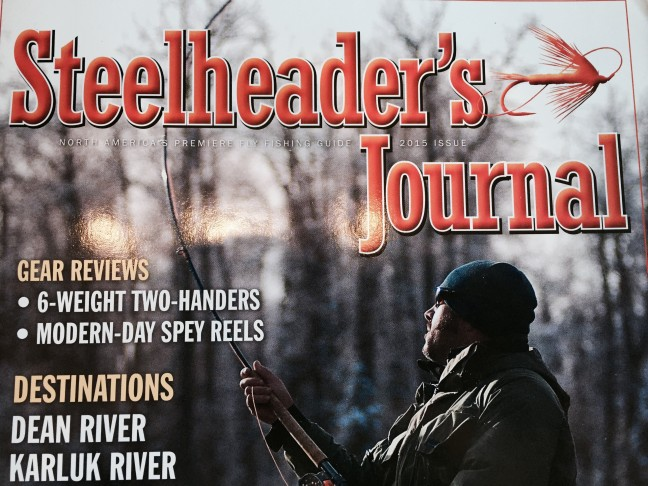 Steelheader's Journal 2015 Edition.