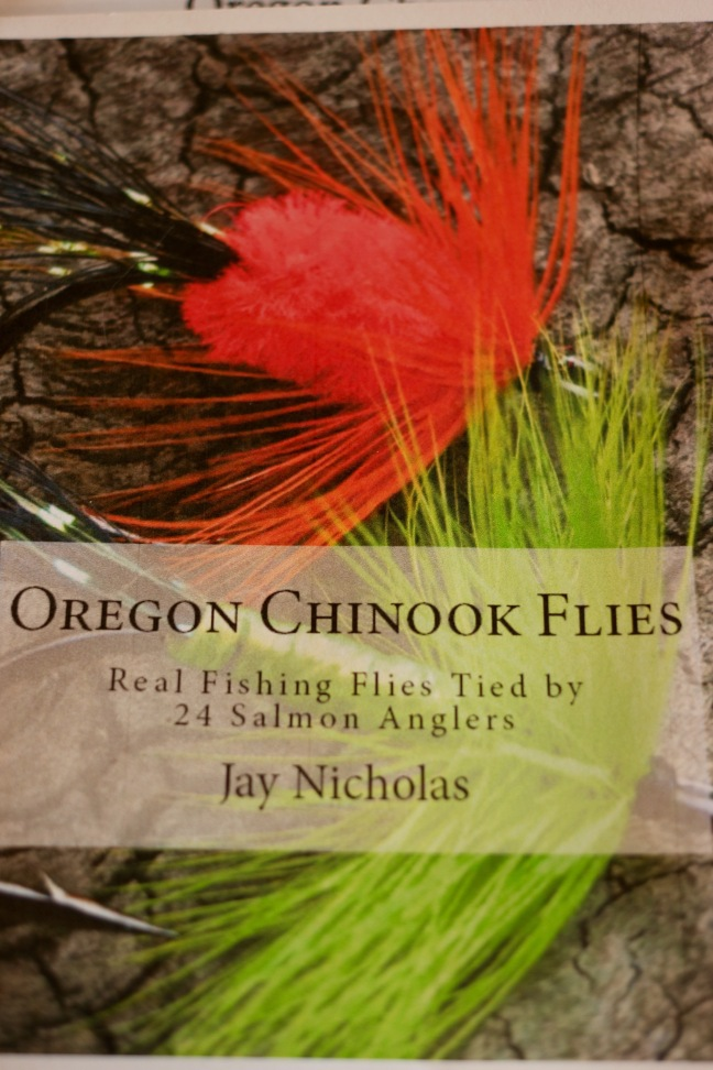 Jay Nicholas Oregon Chinook Flies draft cover.