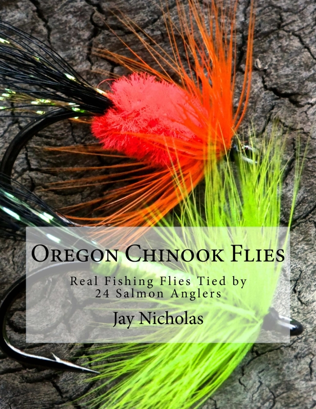 Cover of Oregon Chinook Flies, just released on Amazon.