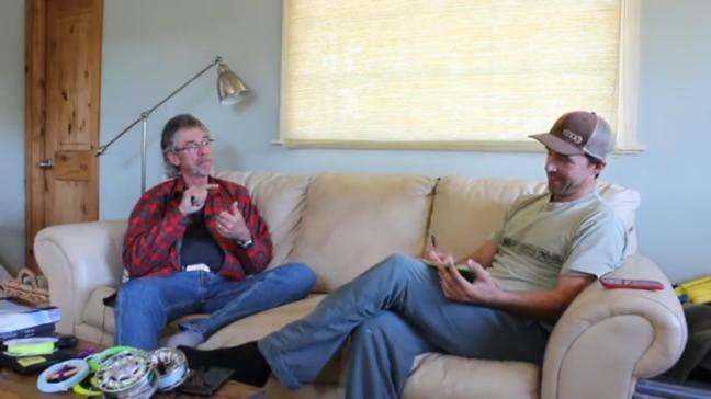 Jay Nicholas steelhead interview by Dave Stewart