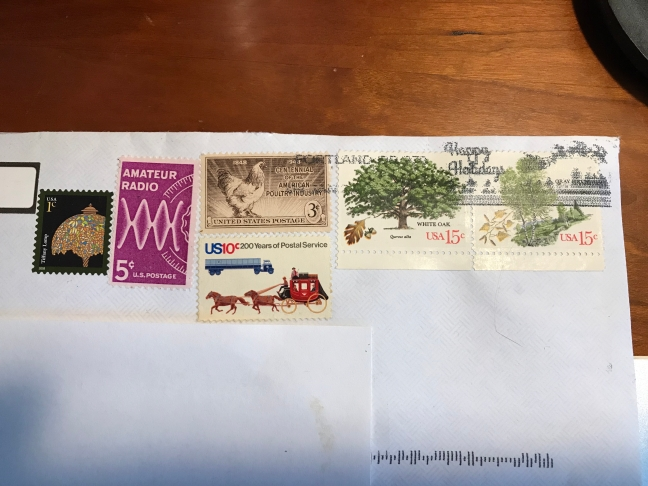 Henry Hoffman Stamped Envelope