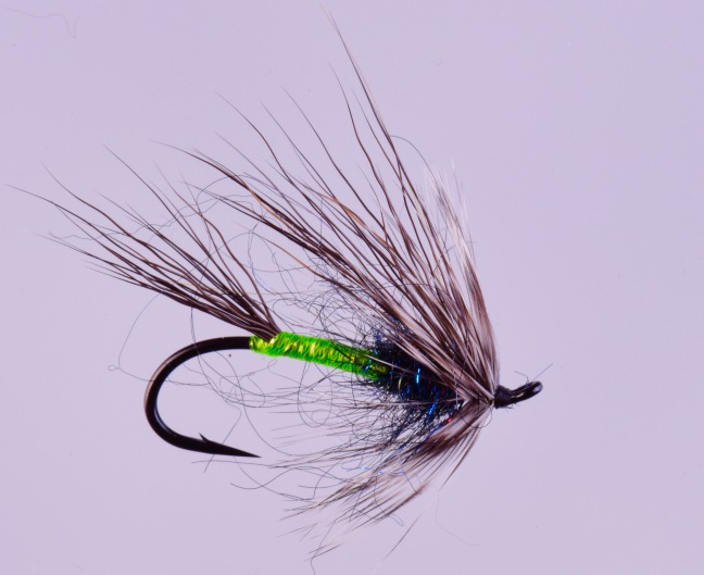 Jay Nicholas Summer Steelhead Flies Green Butt