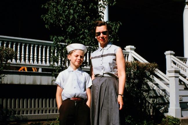 Jay and Dulcie Nicholas circa 1955 0109
