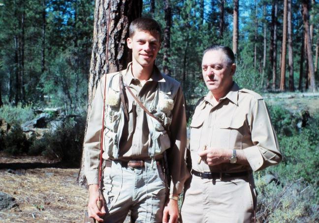 Jay Nicholas and Jack V Nicholas on Metolius circa 1964 0207