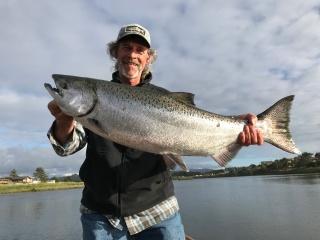 Jay Nicholas with salmon circa 2018 IMG_2150