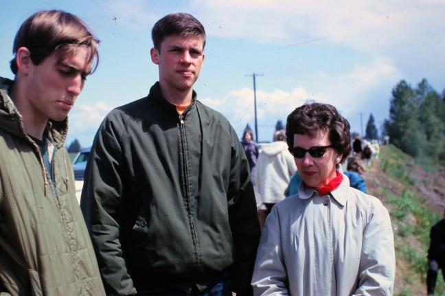 Steve Thorsted, Jay Nicholas, and Dulcit NICHOLAS circa 1968 0242