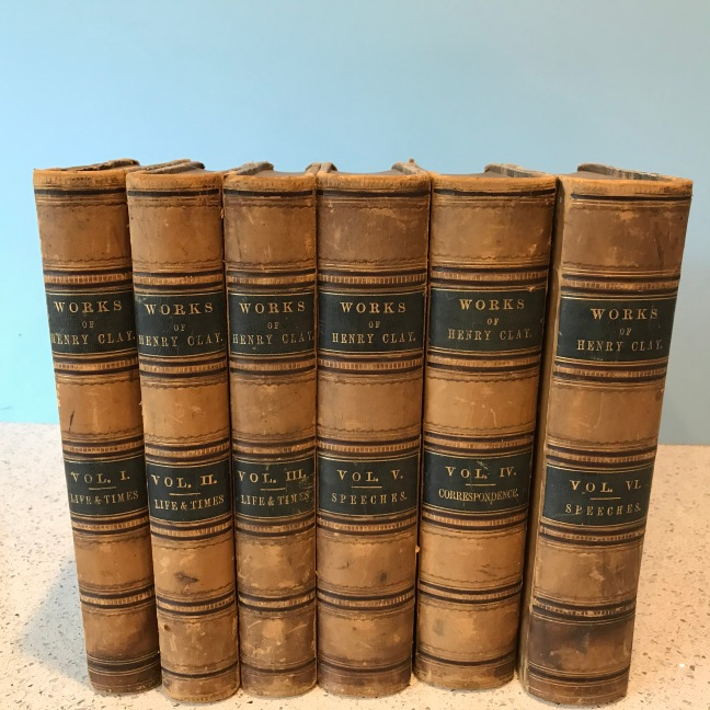 Jay Nicholas Life, Correspondence, and Speeches of Henry Clay 1